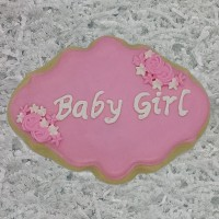 Baby Girl Name Plate