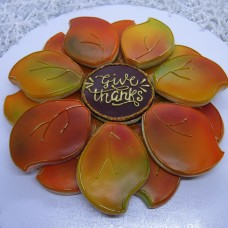 Fall Leaves Platter